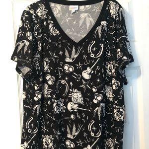 NWT Lularoe 2x Christy t shirt nice soft material